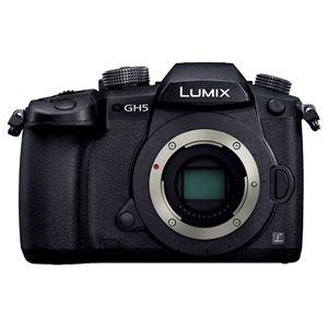 パナソニック デジタル一眼カメラ LUMIX GH5 ボディ (ブラック) DC-GH5-K - 拡大画像