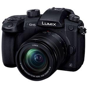 パナソニック デジタル一眼カメラ LUMIX GH5 レンズキット (ブラック) DC-GH5M-K - 拡大画像