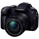 パナソニック デジタル一眼カメラ LUMIX G8 標準ズームレンズキット (ブラック) DMC-G8M-K