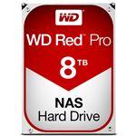 WESTERN DIGITAL WD Red Proシリーズ 3.5インチ内蔵HDD 8TB SATA6.0Gb/s 7200rpm128MB WD8001FFWX