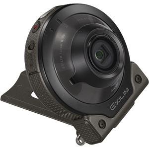 カシオ計算機 デジタルカメラ FREE STYLE EXILIM EX-FR100 カメラ単体 ブラック EX-FR100CABK