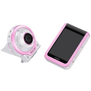 カシオ計算機 デジタルカメラ FREE STYLE EXILIM EX-FR100L ピンク EX-FR100LPK