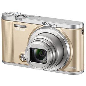 カシオ計算機 デジタルカメラ HIGH SPEED EXILIM EX-ZR1800 ゴールド EX-ZR1800GD - 拡大画像