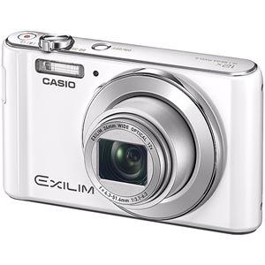 カシオ計算機 デジタルカメラ EXILIM EX-ZS240 ホワイト EX-ZS240WE - 拡大画像