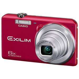 カシオ計算機 デジタルカメラ EXILIM EX-ZS29 レッド EX-ZS29RD - 拡大画像