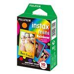 富士フイルム チェキ用カラーフィルム instax mini RAINBOW 1パック品(10枚入) INSTAX MINI RAINBOW WW1