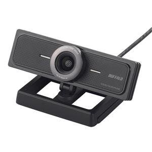 バッファロー マイク内蔵200万画素WEBカメラ 120°広角ガラスレンズ搭載モデル ブラック BSW200MBK 商品画像
