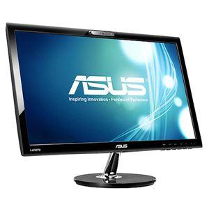 ASUS TeK 5年保証法人向けWEBカメラ内蔵ディスプレイ21.5型ワイド(16:9)VK228H(ノングレア/1920x1080/HDMI・DVI-D・D-Sub/内蔵スピーカー) VK228H - 拡大画像