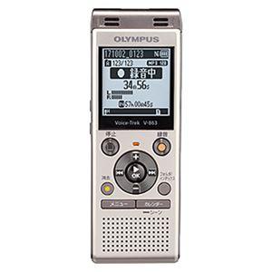 オリンパス ICレコーダー Voice-Trek (シャンパンゴールド) V-863 GLD