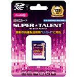 SUPERTALENT UHS-I SDXCメモリーカード 128GB Class10 ST28SU1P