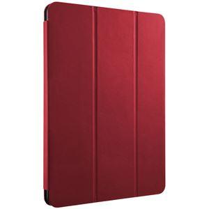 バッファロー 10.5インチiPad Pro 2017年発売モデル専用 レザーケース 3アングルスタンドフラップモデル レッド BSIPD1710CLFRD