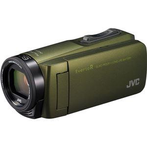 ビクター 32GBハイビジョンメモリームービー(カーキ) GZ-R470-G 商品画像