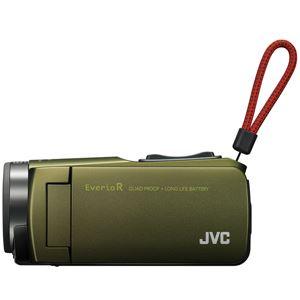 ビクター 32GBハイビジョンメモリームービー(カーキ) GZ-R470-G
