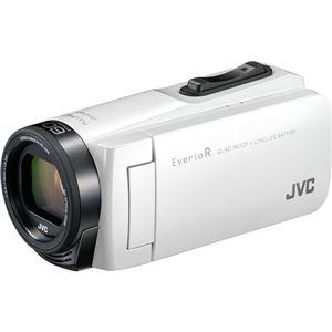 ビクター 32GBハイビジョンメモリームービー(シャインホワイト) GZ-R470-W 商品画像