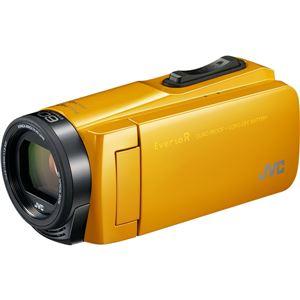 ビクター 32GBハイビジョンメモリームービー(マスタードイエロー) GZ-R470-Y 商品画像