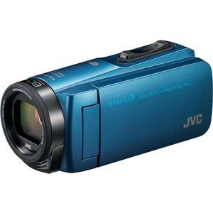 ビクター 64GBハイビジョンメモリームービー(アクアブルー) GZ-RX670-A 商品画像