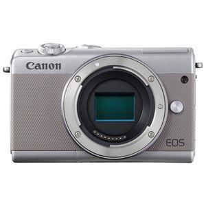 キヤノン ミラーレスカメラ EOS M100・ボディー (グレー) 2211C004 商品画像