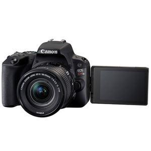 キヤノン デジタル一眼レフカメラ EOS Kiss X9 ブラック(W)・EF-S18-55 F4 STMレンズキット 2248C002 商品写真3