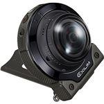 カシオ計算機 デジタルカメラ FREE STYLE EXILIM EX-FR200 カメラ単体 ブラック EX-FR200CABK