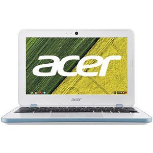 Acer Chromebook 11 CB311-7H-N14N (Chrome OS/CeleronN3060/4GB/32GB eMMC/11.6/WiFi/モバイル/APなし/1年保証/パールホワイト) CB311-7H-N14N