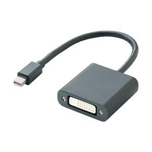 エレコム miniDisplayPort変換アダプタ/DVI/ブラック AD-MDPDVIBK