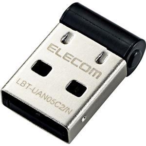 エレコムBluetoothUSBアダプタ/PC用/超小型/Ver4.0/Class2/forWin10/ブラックLBT-UAN05C2/N