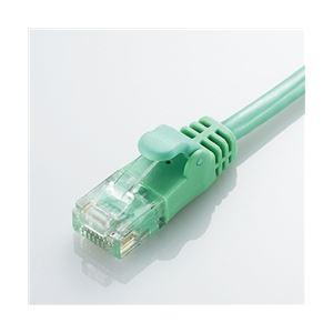 エレコム CAT6準拠 GigabitやわらかLANケーブル 3m(グリーン) LD-GPY/G3