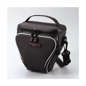 エレコム 低反発ポリウレタン デジタルカメラ単体ケース Sサイズ(ブラック) ZSB-SDG006BK