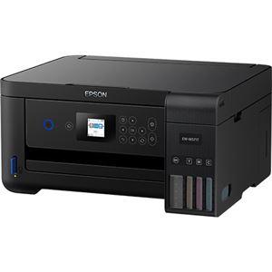 エプソン A4カラーインクジェット複合機/エコタンク搭載モデル/多機能モデル/4色/黒顔料・カラー3色染料/無線LAN/Wi-FiDirect/両面/1.44型液晶 EW-M571T