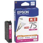 エプソン ビジネスインクジェット用 大容量インクカートリッジ(マゼンタ)/約730ページ対応 ICM75