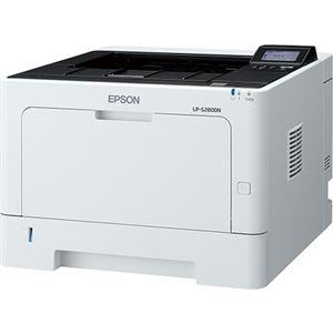 エプソン A4モノクロページプリンター/35PPM/LCDパネル搭載/両面印刷/ネットワーク/耐久性20万ページ LP-S280DN