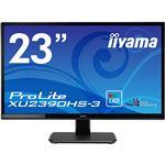 iiyama 23型ワイド液晶ディスプレイ ProLite XU2390HS-3 (LED、AH-IPS)マーベルブラック XU2390HS-B3