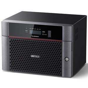 バッファロー TeraStation TS5810DNシリーズ 10GbE標準搭載 8ドライブNAS48TB TS5810DN4808