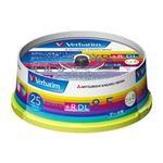 三菱ケミカルメディア DVD+R DL 8.5GB PCデータ用 8倍速対応 25枚スピンドルケース入りワイド印刷可能 DTR85HP25V1