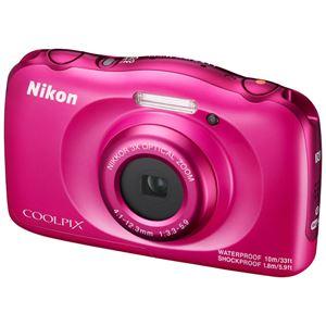 ニコン デジタルカメラ COOLPIX W100 ピンク COOLPIXW100PK