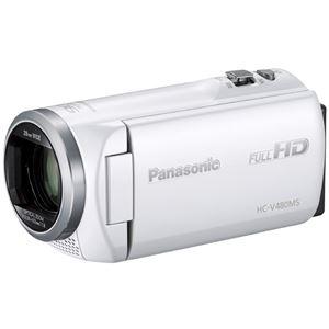 パナソニック(家電) デジタルハイビジョンビデオカメラ (ホワイト) HC-V480MS-W 商品画像
