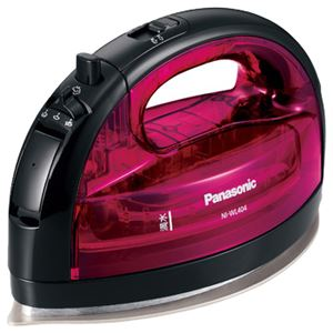 パナソニック(家電)コードレススチームアイロン(ピンク)NI-WL404-P