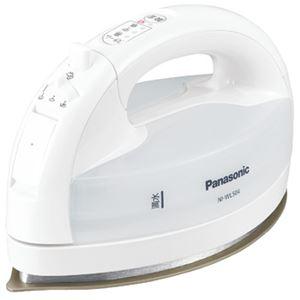 パナソニック(家電) コードレススチームアイロン (ホワイト) NI-WL504-W