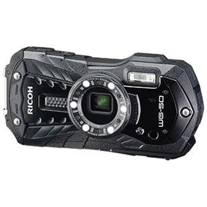 リコーイメージング 防水デジタルカメラ WG-50 (ブラック) WG-50BK