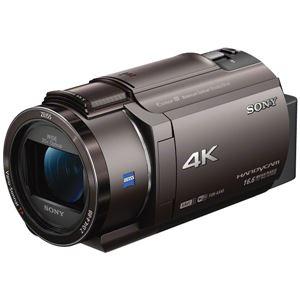 SONY デジタル4Kビデオカメラレコーダー Handycam AX40 ブロンズブラウン FDR-AX40/TI 商品画像