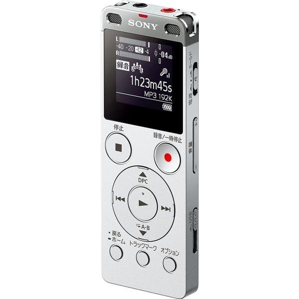 SONY ステレオICレコーダー FMチューナー付 4GB シルバー ICD-UX560F/S
