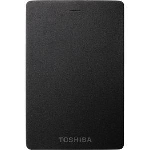東芝(家電) ポータブルハードディスク 1.0TB ブラック HDTH310JK3AA-D
