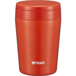 タイガー魔法瓶 ステンレスカップ ≪スープカップ≫ 0.38L チリレッド MCL-B038RC