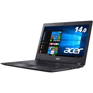 Acer Aspire 1 A114-31-A14P (Celeron N3350/4GB/64GBeMMC/ドライブなし/14.0/Windows 10 Home(64bit)/Officeなし/オブシディアンブラック)