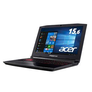 Acer Predator Helios 300 G3-572-A76H (Corei7-7700HQ/16GB/256GB SSD + 1TB HDD/ドライブなし/15.6/Windows 10Home(64bit)/APなし/オブシディアンブラック)