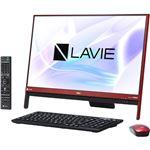 NECパーソナル LAVIE Desk All-in-one - DA370/HAR ラズベリーレッド