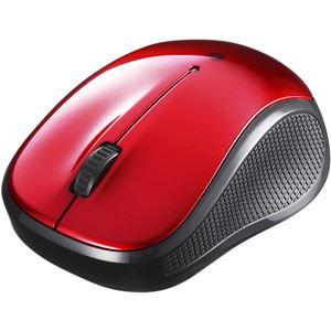 バッファロー(サプライ) Bluetooth3.0対応 BlueLED光学式マウス 静音/3ボタン レッド