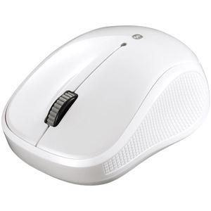 バッファロー(サプライ) Bluetooth3.0対応 BlueLED光学式マウス 静音/3ボタン ホワイト