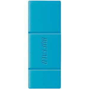 バッファロー スマホ・タブレット用USBメモリー 16GB ブルー