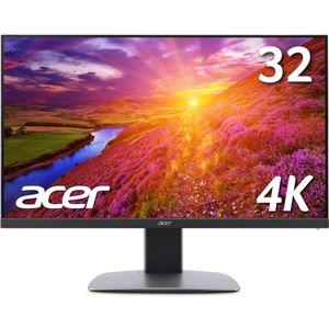 Acer 32型ワイド液晶ディスプレイ BM320bmidpphzx(非光沢/3840x2160/ブラック/DVI-DL・HDMI v2.0 (HDCP2.2対応)・DisplayPortv1.2a・Mini DP/スピーカー/イヤホン端子)